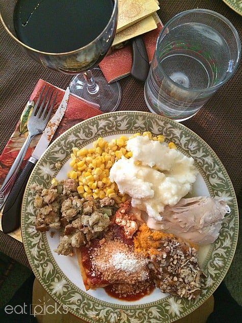 Turkey dinner and more