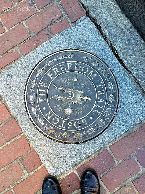 Freedom Trail Marker Boston