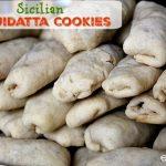 Italian Cujidatta Cookies #IntnlCookies