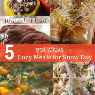 5 Easy Cozy Meals for Snow Day