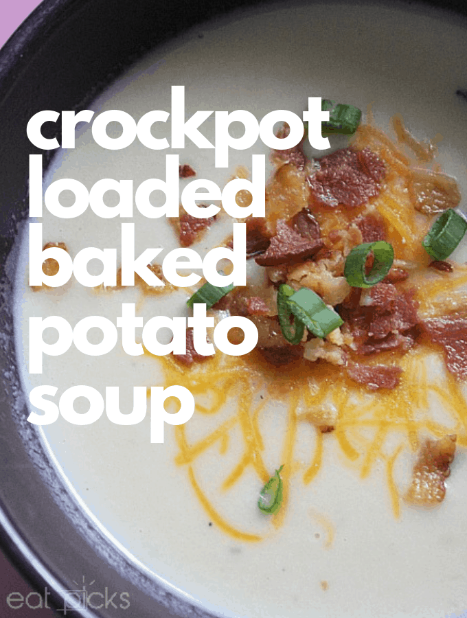 Crockpot Loaded Baked Potato Soup