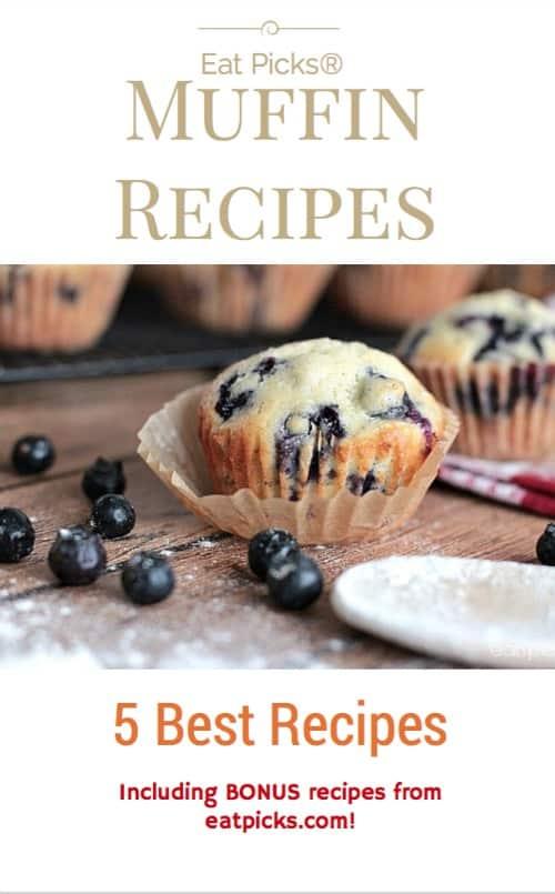 Best Muffin Recipe Book Cover