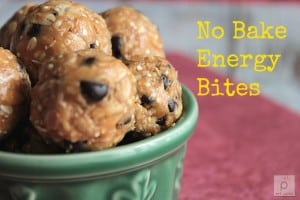 No Bake Energy Bites are easy to make and delicious. A great gluten free alternative snack, filled with peanut butter, quinoa, agave and dairy, nut & soy free chocolate chips