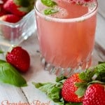 Nutritious Strawberry Basil Spritzer for Your Valentine #SundaySupper #FLStrawberry