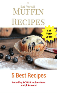 5 Best Muffin Recipe Book is full of delicious recipes and more!