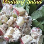 Chicken Waldorf Salad with Yogurt Dressing