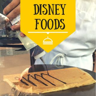 6 Must Have Disney Foods to put on your list for your next trip to Disney World.