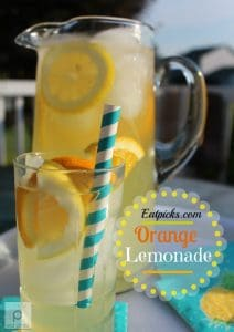 Homemade orange lemonade is easy and refreshing beverage to enjoy throughout the summer season.