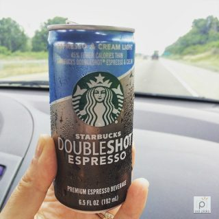 Espresso Double Shot is much needed for Friday Coffee Talk. Love the cold Starbucks variety!