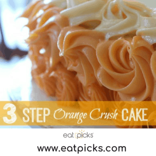 Orange Crush Cake is a great soda pop cake recipe