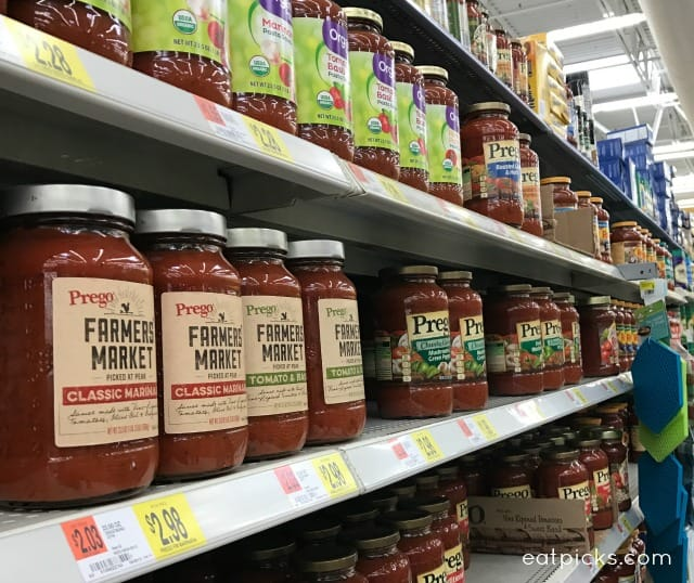 Prego Farmer's Market® Sauces are a way to get fresh picked flavors any time of year. Great for pasta dishes or unique appetizer recipes.