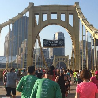 Announcing: Happy to Be Official Blogger for Pittsburgh Marathon!