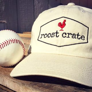Roost Crate Baseball Cap is perfect hat to wear anytime anywhere!