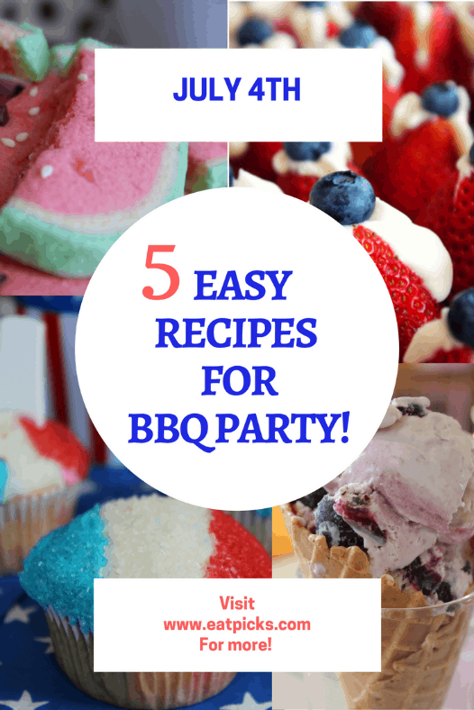 5 Easy dessert recipes for BBQ