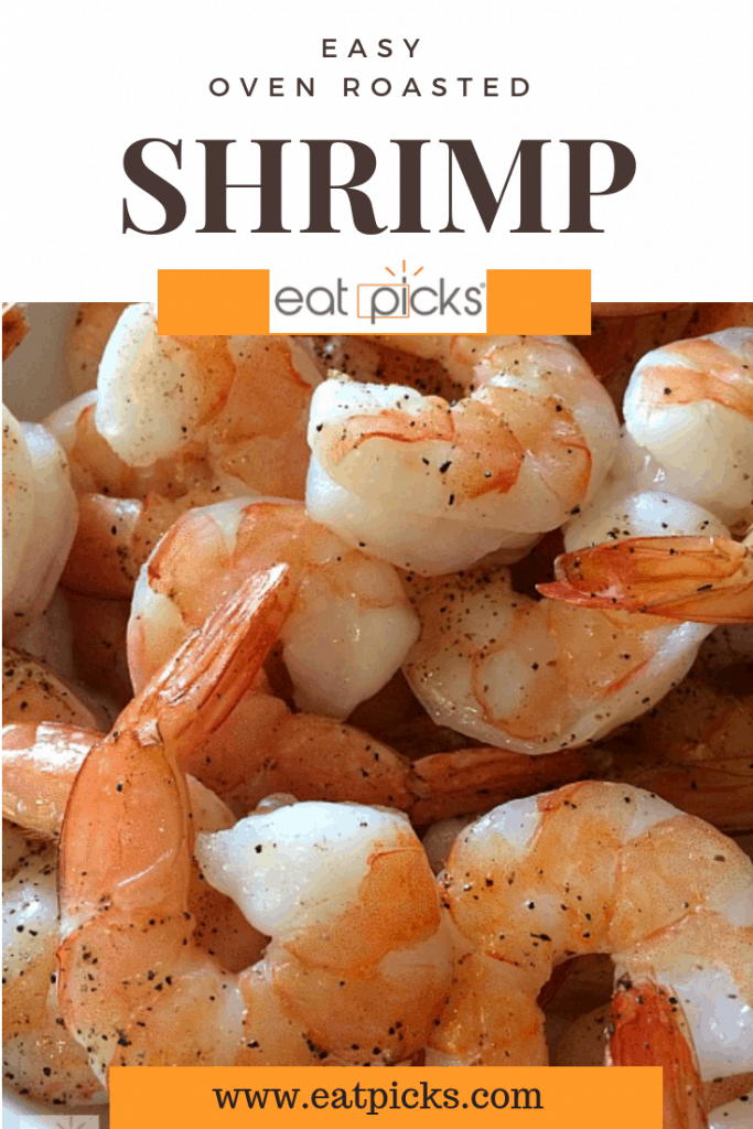 Oven Roasted Shrimp is perfect for easy recipe appetizer or dinner. #easyrecipe