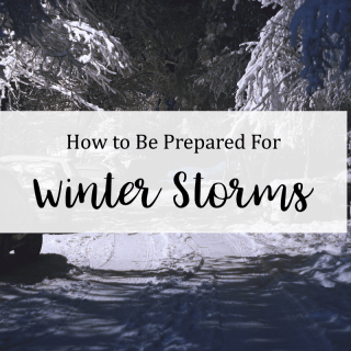 Preparing for Winter Storm