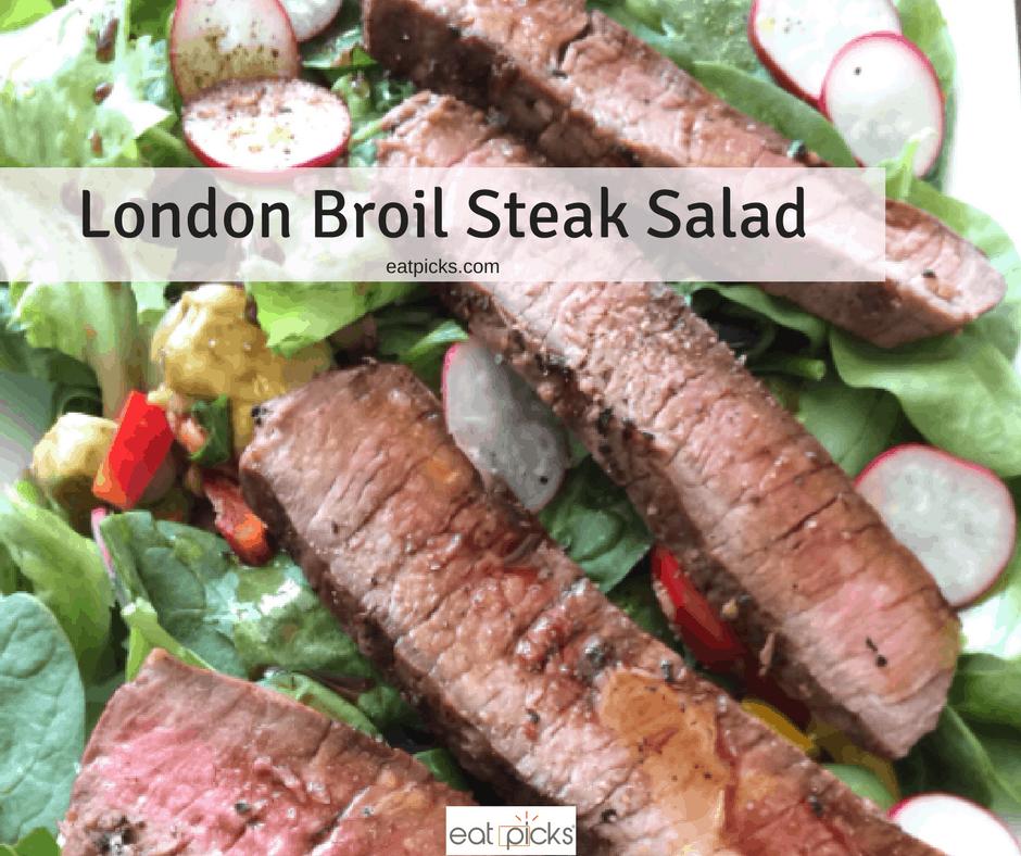 London Broil Steak Salad