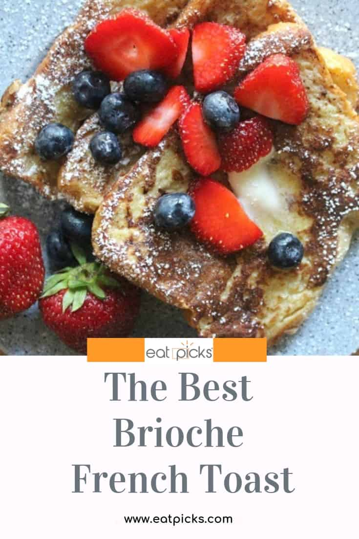 Best Brioche French Toast Recipe is perfect for any special occasion! #breakfast #frenchtoast