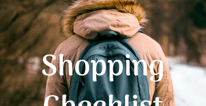 Back to School Checklist 8 Must Have Items