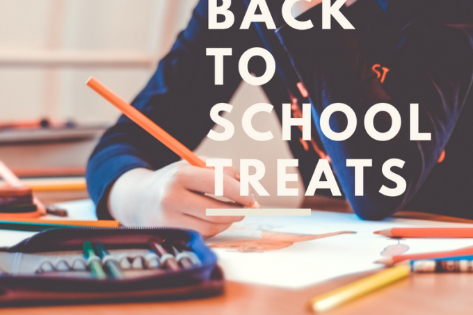 Back to school treats for lunches or after school #backtoschool