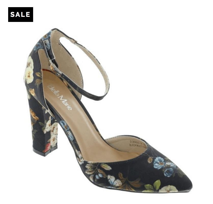 Brocade heels