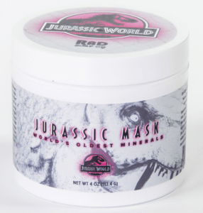 RAD JurassicWorldMask beauty mask