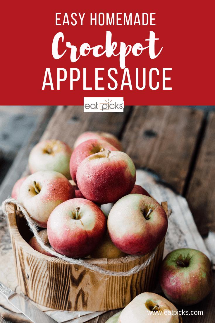 homemade crock pot applesauce