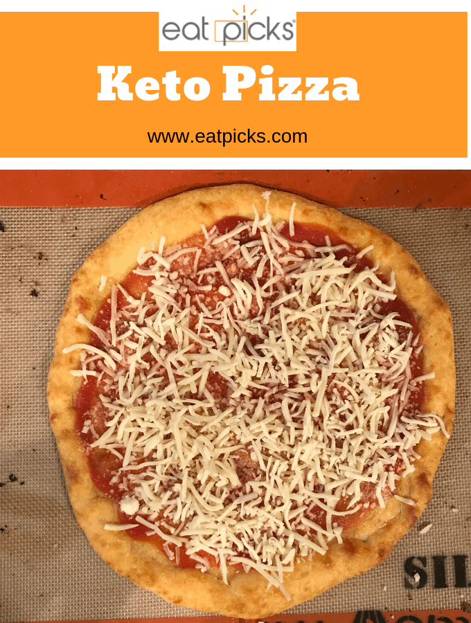 Easy Keto Pizza Recipe is perfect for dinner! #keto #pizza