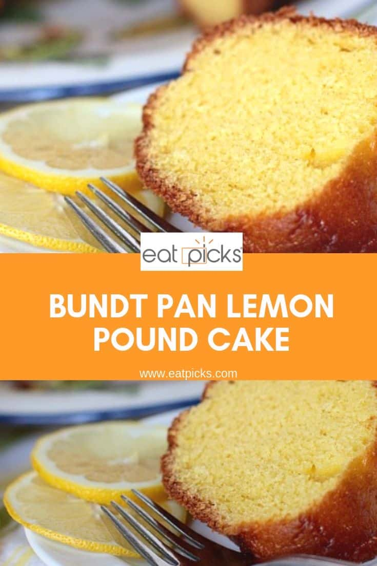 Slice of Lemon Pound Cake Pin Image