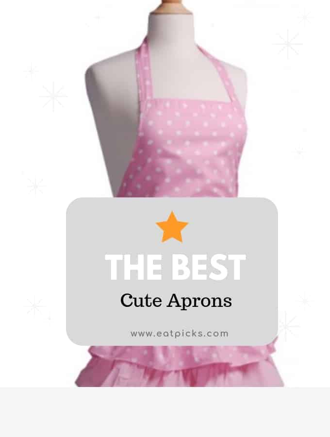 The Best Cute Aprons for women and men. Perfect for cooking or DIY projects #aprons #DIY #cooking