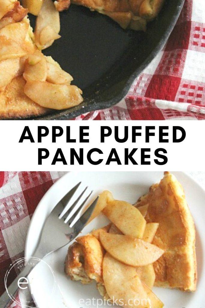 dutch baby puffed pancake