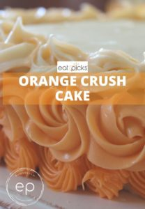 Orange Crush Cake with Ombre Frosting
