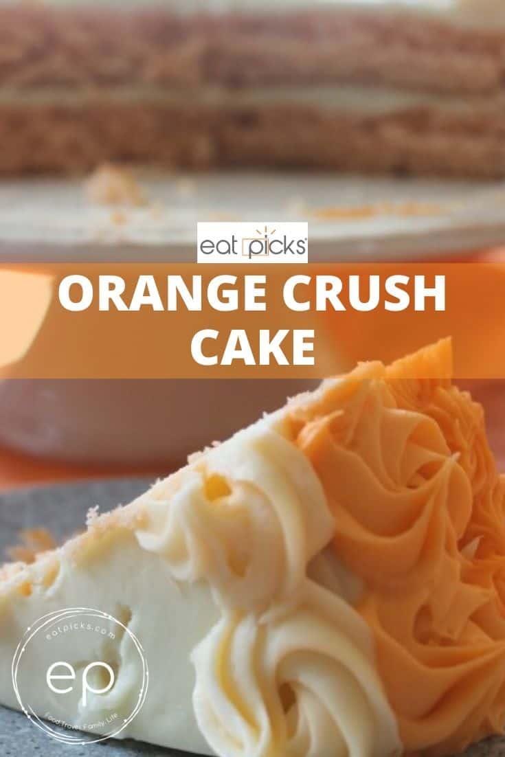 orange crush cake slice