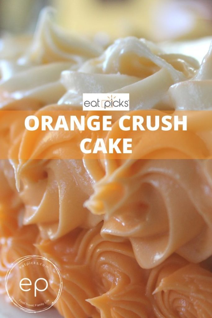Orange Crush Soda Cake
