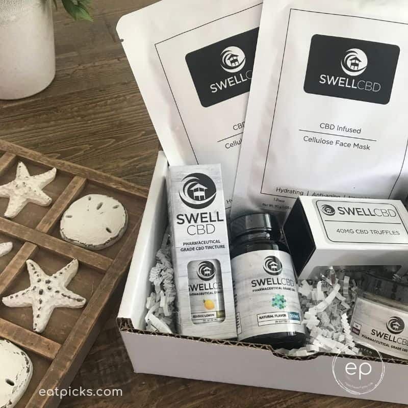 Box of Best CBD Products from SwellCBD