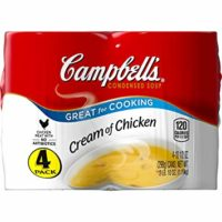 Campbell's Condensed Cream of Chicken Soup, 10.5 oz., 4 Count