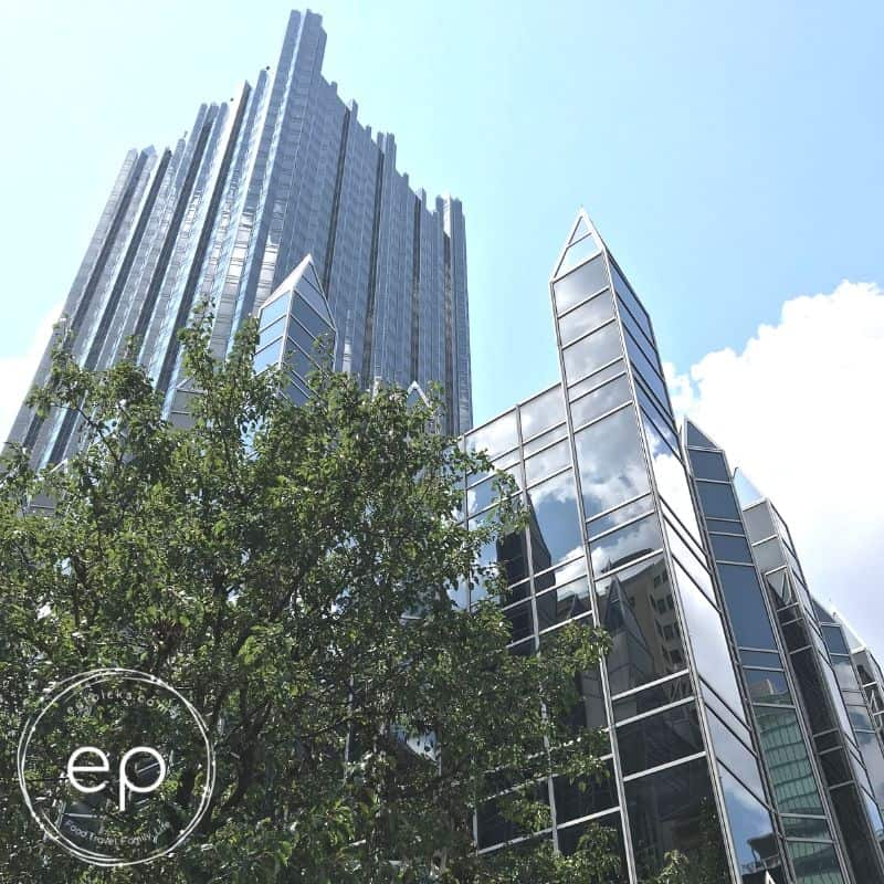 PPG Building in downtown Pittsburgh