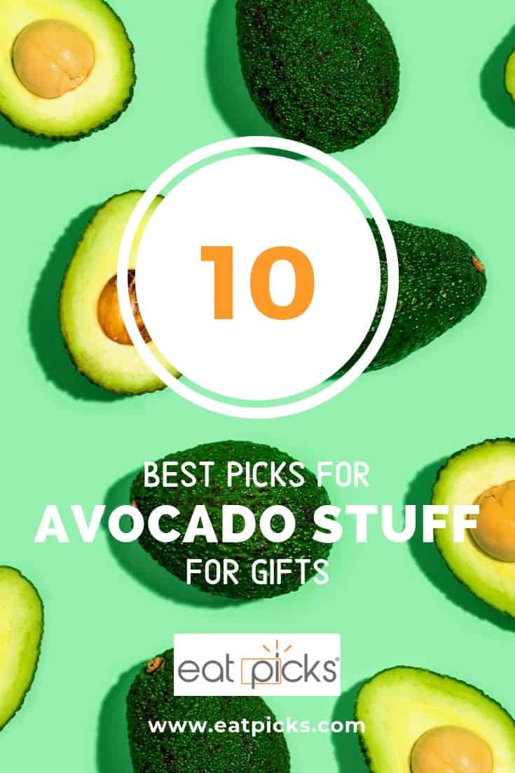 10 Top Avocado Stuff for Gifts from tools to socks!