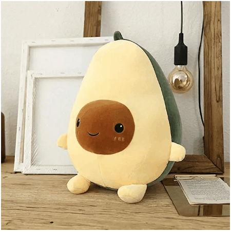 avocado plush pillow toy