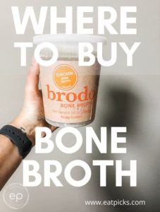 Where to Buy Bone Broth