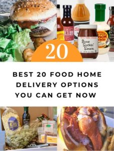 20 home food deliveries