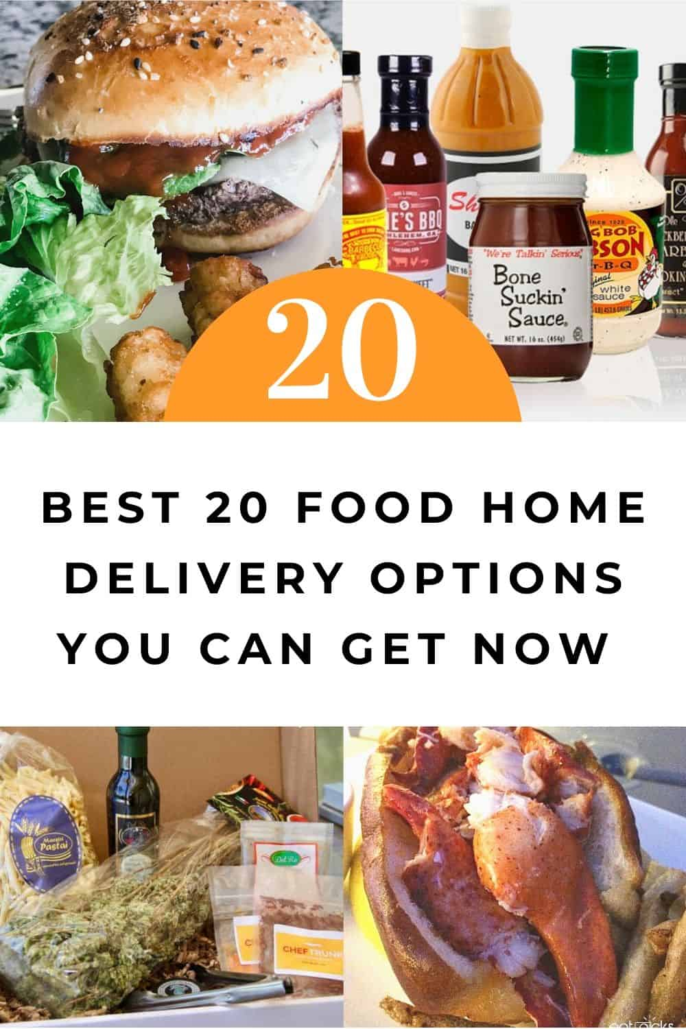 20 food home delivery options to get now