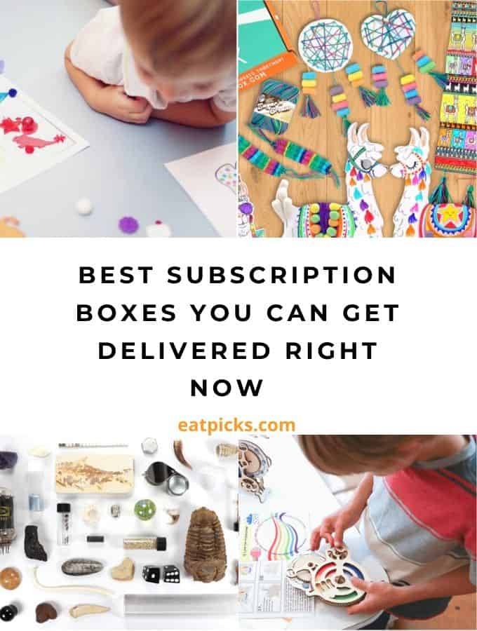 Best Subscription Boxes You Can get Delivered Right Now