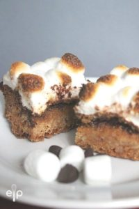 Chocolatey S'mores Bars Reicpe