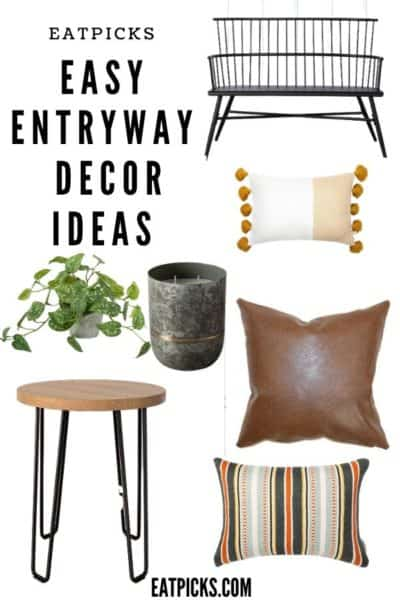 Easy Entryway decor ideas for small space