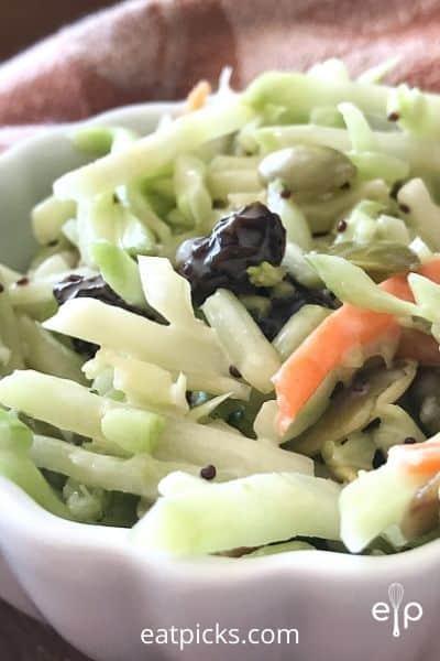 Broccoli slaw salad mix