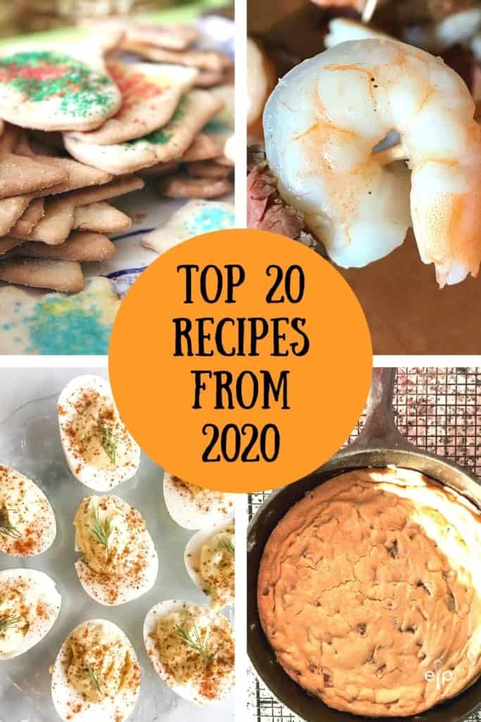 20 favorite top recipes from 2020